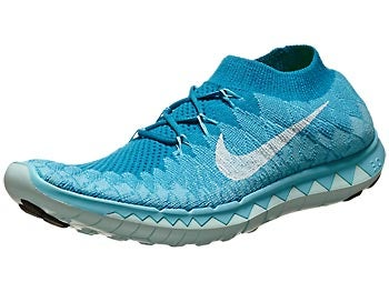 Nike Free 3.0 Flyknit Women's Shoes Turq/White/Blue