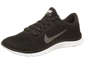 Nike Free 3.0 v5 Men's Shoes Black/Silver/Anth