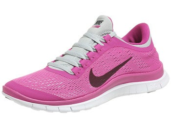 Nike Free 3.0 v5 Women's Shoes Pink/Platinum/White