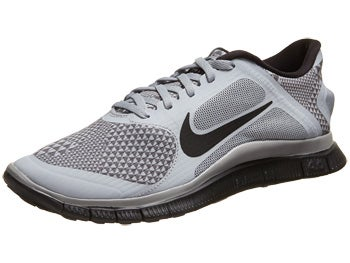 Nike Free 4.0 v3 Bloom Men's Shoes Wolf Grey/Black