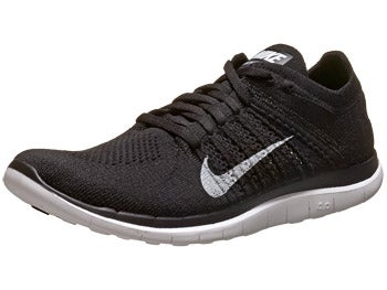 Nike Free 4.0 Flyknit Men's Shoes Black/Grey/White