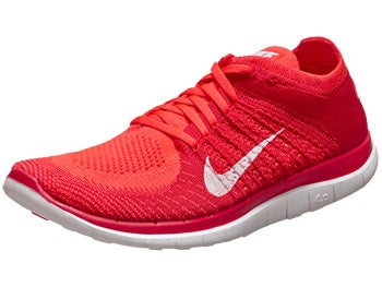 Nike Free 4.0 Flyknit Men's Shoes Crimson/Red/Orange