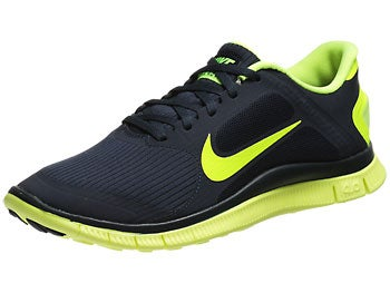 Nike Free 4.0 v3 Men's Shoes Black/Volt