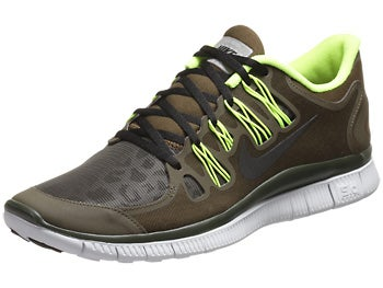 Nike Free 5.0+ Shield Men's Shoes Loden/Volt/Plat