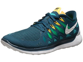 Nike Free 5.0 '14 Men's Shoes Nightshade/Green/Volt