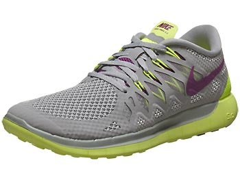 Nike Free 5.0 '14 Women's Shoes Grey/Volt/Grape