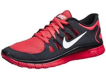 Nike Free 5.0+ Bloom Men's Shoes Crimson/White/Black