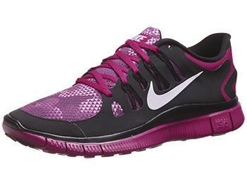Nike Free 5.0+ Bloom Women's Shoes Magenta/White/Black