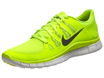 Nike Free 5.0+ Men's Shoes Volt/White/Grey