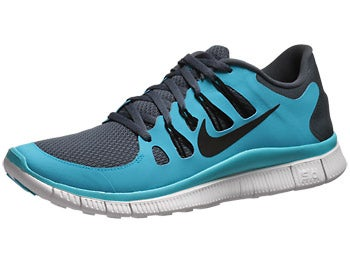 Nike Free 5.0+ Men's Shoes Blue/Blue/White/Black