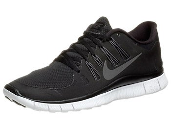Nike Free 5.0+ Men's Shoes Black/Grey/White