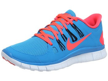 Nike Free 5.0+ Men's Shoes Blue/Black/Red