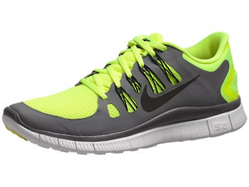 Nike Free 5.0+ Men's Shoes Volt/Grey/White/Black