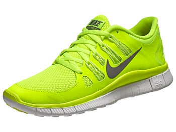 Nike Free 5.0+ Women's Shoes Volt/White/Grey
