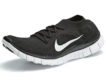 Nike Free Flyknit+ Men's Shoes Black/White/Anthracite