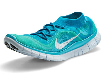 Nike Free Flyknit+ Women's Shoes Neo Turquoise/White