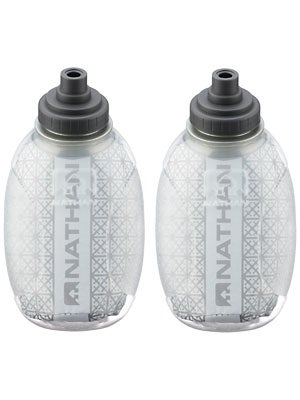 Nathan Fire & Ice 8 oz Race Cap Flask 2-Pack