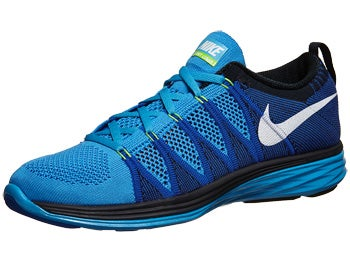 Nike Flyknit Lunar2 Men's Shoes Blue/Royal/Obsidian