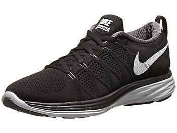 Nike Flyknit Lunar2 Women's Shoes Black/Grey/Plat