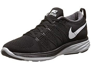 Nike Flyknit Lunar2 Women's Shoes Black/Grey/Plat