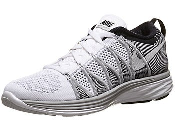 Nike Flyknit Lunar2 Women's Shoes White/Grey/Black