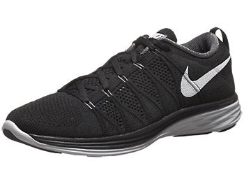 Nike Flyknit Lunar2 Men's Shoes Black/Grey/Platinum