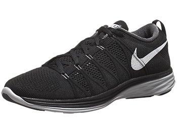 Nike Flyknit Lunar2 Men's Shoes Black/Grey/Platinum