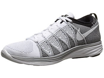 Nike Flyknit Lunar2 Men's Shoes White/Grey/Black