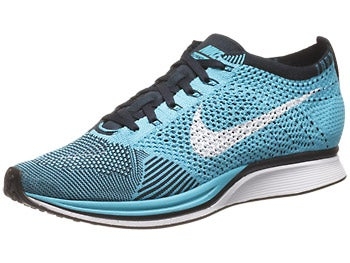 Nike Flyknit Racer Unisex Shoes Blue/White/Obsidian