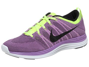 Nike Flyknit Lunar1+ Men's Shoes Purple/Black/Purple