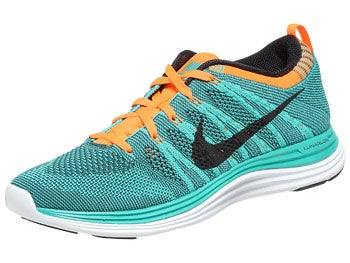 Nike Flyknit Lunar1+ Women's Shoes Teal/Blk/Or