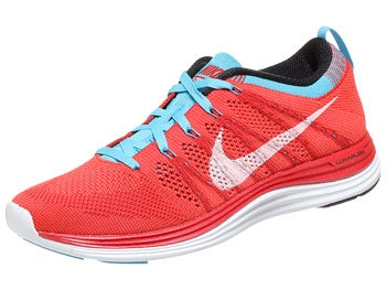Nike Flyknit Lunar1+ Women's Shoes Red/Wht/Crim