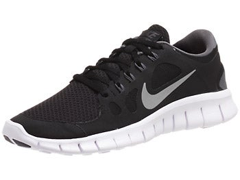Nike Kids Free 5.0 GS Boy's Shoes Black/Grey