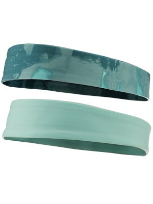 The North Face Tadasana Headband 2-Pack Green & Pink