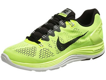 Nike LunarGlide+ 5 Men's Shoes Volt/Black/White