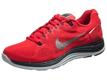 Nike LunarGlide+ 5 Men's Shoes Crimson/Black/Platinum