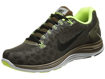 Nike LunarGlide+ 5 Shield Men's Shoes Loden/Volt