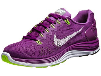 Nike LunarGlide+ 5 Women's Shoes Grape/Violet/Volt