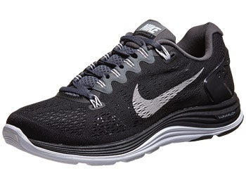 Nike LunarGlide+ 5 Women's Shoes Black/Grey/White