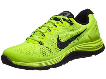 Nike LunarGlide+ 5 Men's Shoes Green/Volt/Black