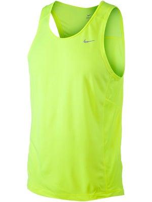 Nike Men's Miler Singlet Volt