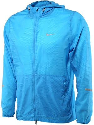 Nike Men's Printed Hurricane Jacket Vivid Blue