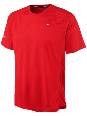 Nike Men's Miler SS UV Crimson