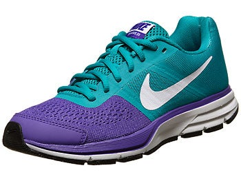 Nike Kids Air Pegasus+ 30 GS Girl's Shoes Purp/Grn/Blk
