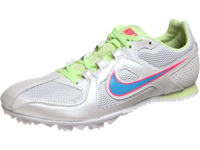 Nike Zoom Rival MD 6 Women's Spikes White/Glow
