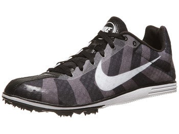 Nike Zoom Rival D 8 Men's Spikes Black/Grey/White