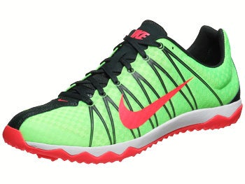 Nike Zoom Rival XC Men's Spikes Lime/Black/Red
