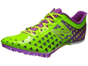 New Balance SD400 Women's Spikes Green/Purple