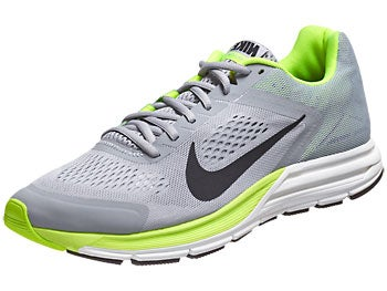 Nike Zoom Structure+ 17 Men's Shoes Grey/Volt