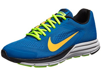 Nike Zoom Structure+ 17 Men's Shoes Blue/Green/Black